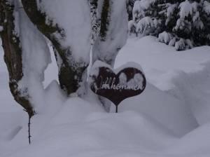 Wilkommen in de sneeuw